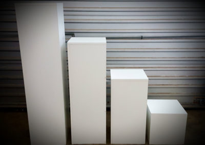 Plinth sizes
