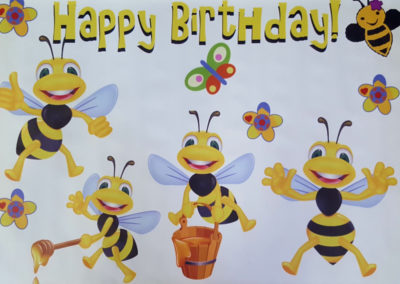 Banners - Bees 1000px