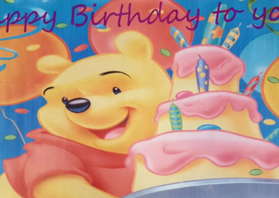 Banners - Pooh Bear 1000px