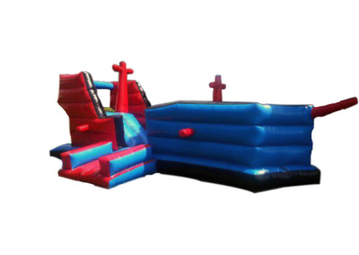 Inflatables - Ship Castle 3.5x8