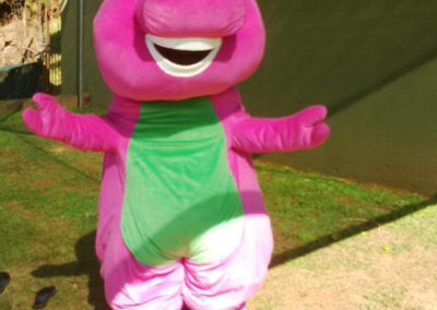 Mascots - Barney cropped