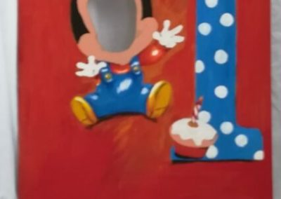Photoboards - Baby Mickey